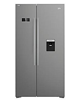 Beko ASD2341VX Frost Free Fridge Freezer - Stainless Steel