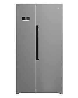 Beko ASL1342S Frost Free Fridge Freezer - Silver