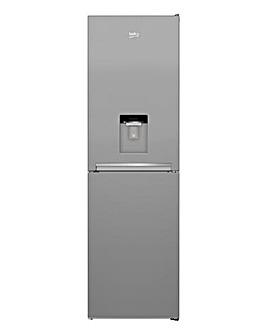 Beko CFG3582DS Frost Free Fridge Freezer - Silver