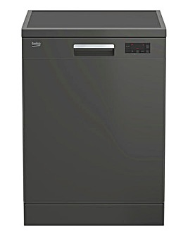 Beko 5 Temperature Dishwasher GRAPHITE DFN16430G