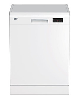 Beko 5 Temperature Dishwasher WHITE DFN16430W