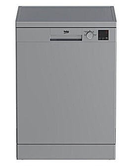 Beko DVN04320S Freestanding 13-place Full-Size Dishwasher - Silver