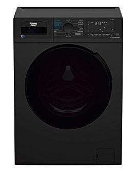 Beko 7.0 kg Washer Dryer BLACK WDL742431B