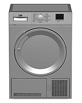 Beko DTLCE70051S 7kg Condenser Dryer Silver