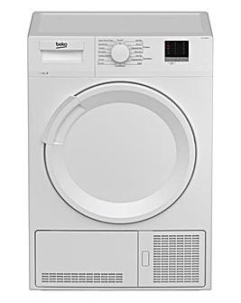 Beko DTLCE70051W 7kg Condenser Dryer White