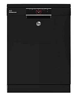 Hoover HDPN 2D520PB 15 Place Settings Free Standing Dishwasher Black