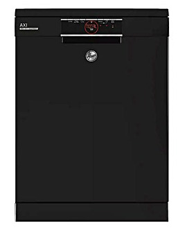 Hoover HDPN 2D520PB 15 Place Settings Free Standing Dishwasher Black + INSTALL