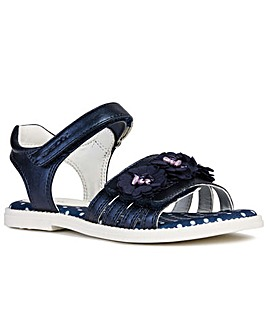 Geox Junior Karly Flower Girls Sandals