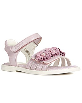 Geox Junior Karly Flower Girls Sandals