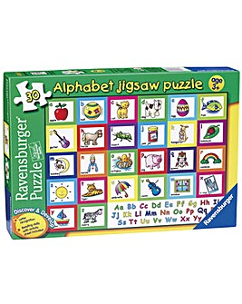 Alphabet Jigsaw Puzzle 30 pc