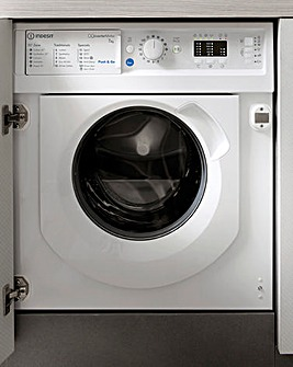 INDESIT BI WMIL 71252 UK N 7KG 1200 Spin Integrated Washer WHITE