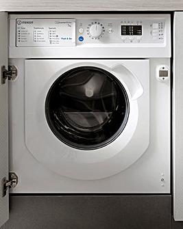 Indesit BIWMIL71252UKN Integrated 7kg 1200rpm Washing Machine - White
