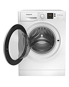 HOTPOINTNSWM742UWUKN Wash Machine + INSTALL