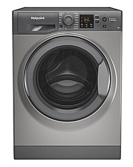 HOTPOINT NSWM742UGGUKN 7KG 1400 Spin Washing Machine GRAPHITE