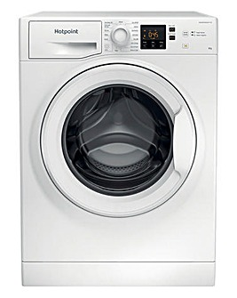 HOTPOINT NSWM843CWUKN 8KG 1400 Spin Washing Machine WHITE + INSTALL