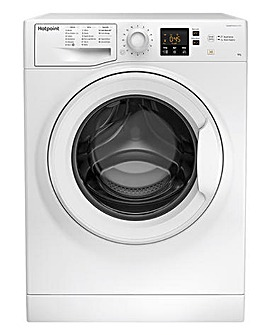 HOTPOINT NSWM943CWUKN 9KG 1400 Spin Washing Machine WHITE