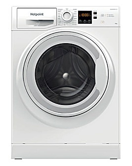 HOTPOINT NSWM 1043C W UK N 10KG 1400 Spin Washing Machine WHITE
