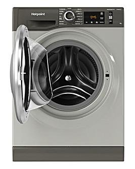 Hotpoint NM11945GCAUKN 9kg Washing Machine - Graphite