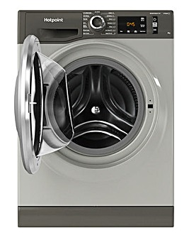 Hotpoint NM11945GCAUKN 9kg Washing Machine - Graphite + INSTALLATION