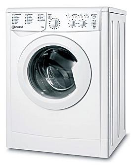 INDESIT IWC71252WUKN 7kg Ecotime Washing Machine WHITE