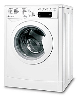 INDESIT IWDD75145UKN 7+5KG 1400 Spin Ecotime Washer-Dryer WHITE