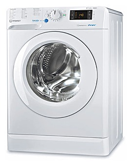 INDESIT BDE861483XWUKN 8+6kg 1400rpm Washer Dryer