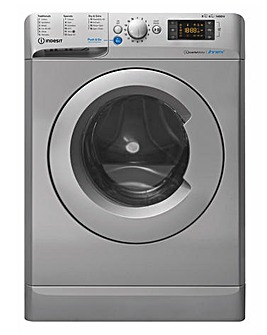 INDESIT BDE861483XSUKN 8+6kg 1400rpm Washer Dryer + INSTALLATION