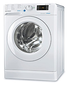INDESIT BDE1071682XWUKN 10+7KG 1600 Spin Washer-Dryer WHITE