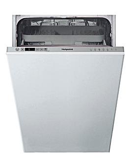 HOTPOINT HSIC3M19CUKN Dishwasher + INST