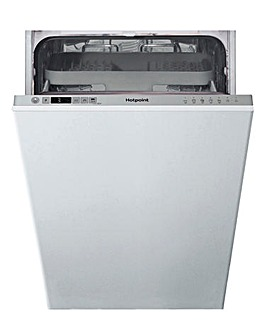 HOTPOINT HSIC3M19CUKN Integrated Slimline Dishwasher