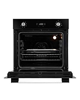 Hoover HOC3UB5858BI Black & Steel Oven