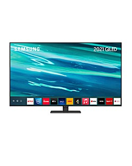 """Samsung QE50Q80AATXXU 50"""" QLED QHDR 1500 4K Smart TV"""