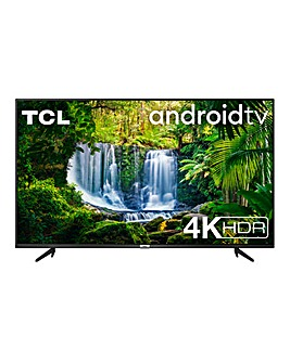 "TCL 43P615K 43"" 4K Ultra HD Android TV"