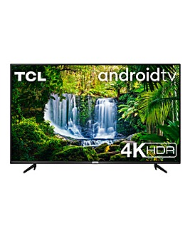 """TCL 55P615K 55"""" 4K Ultra HD Android TV"""
