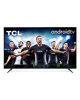 """TCL 65P615K 65"""" 4K Ultra HD Android TV"""