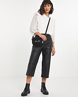 Premium Tailored PU Crop Trouser