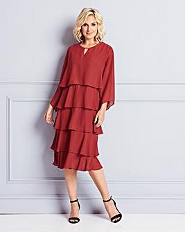 Nightingales Layered Dress