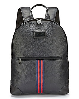 Flintoff By Jacamo Leather Backpack