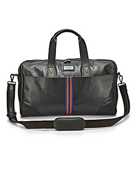 Flintoff By Jacamo Leather Holdall