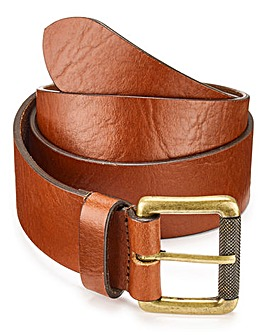 Brown Roll Buckle Belt