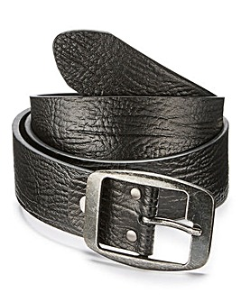 Brown Leather Jeans Belt