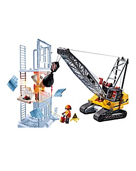 Playmobil 70442 Demolition Crane