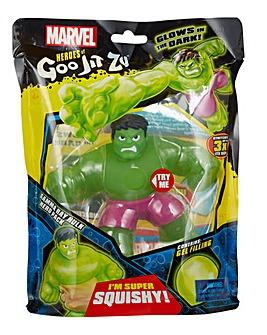 Heroes Of Goo Jit Zu Marvel Gamma Glow Hulk