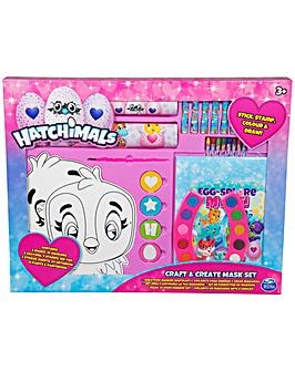Hatchimals Craft & Create Mask Set