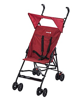 Safety 1st Peps & Canopy Stroller - Red