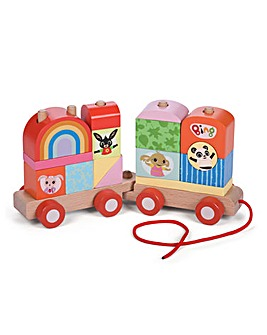 Bing Wooden Pull Along Stacking Train