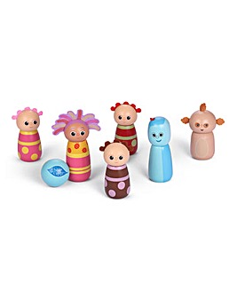 In The Night Garden Wooden 16cm Character Skittles