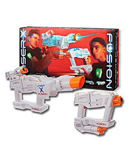 Laser X Fusion Blasters 2 Pack