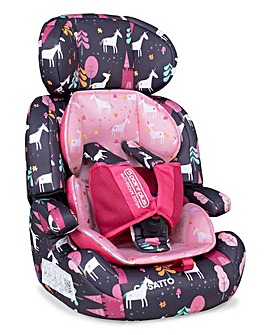Cosatto Zoomi Group 123 Car Seat - Unicorn Land