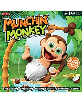 Munchin' Monkey